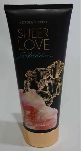 Crema Victorias Secret Hidratante Sheer Love Original Americana 100%
