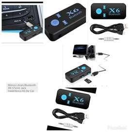 Adaptador de Bluetooth para Carros Equip
