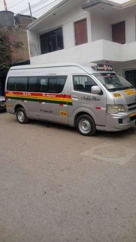 Ocasión Jinbei 2012 listo para trabajar