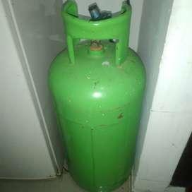 Pipa de gas 18kg con estufa y regulador
