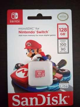 Micro SD para Nintendo Switch