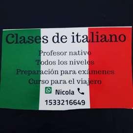 Italiano nativo para curso de italiano