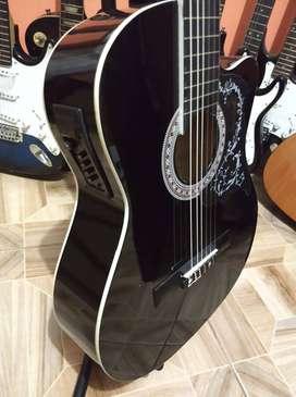 interesante guitarra freeman electro acustica
