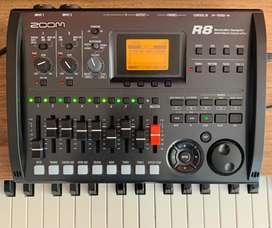 Zoom R8 - Grabadora, interface, controlador y sampler