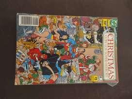 christmas con los super heroes