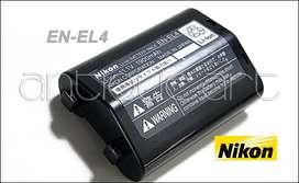 A64 Bateria En-El4 Nikon D3x D3s D3 D2x D2H Vida Carga 0-3
