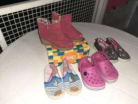 combo de zapatillas num 23