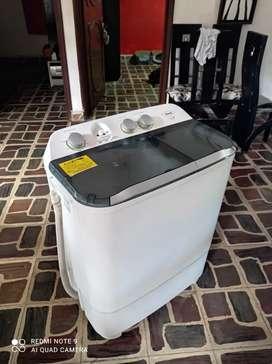 lavadora haceb doble tina