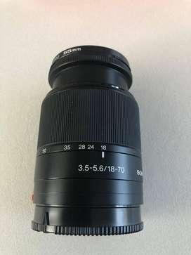 Lente Sony SAL 18200 DT 18-200mm - VENDO O PERMUTO