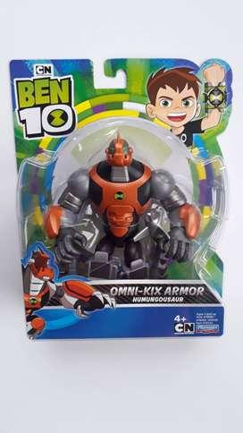 Omni Kix Armor Humungousaur Figura Muñeco Ben 10 Nuevo