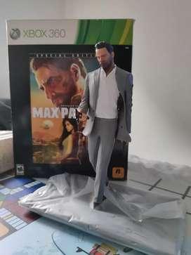 Vendo o Cambio figura coleccionable Max Payne de X-Box 360 x otras cosas