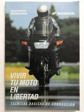 Manual de Uso Manejo Conduccion Moto