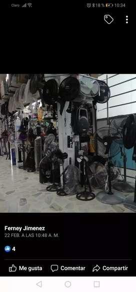 Vendo todo tipo de ventiladores