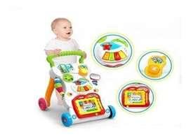 Caminador Andador Musical Luces Bebes Niños