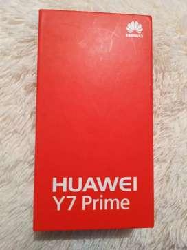 Huawei Y7 prime, excelente precio, buen estado
