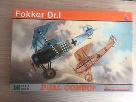 Fokker Dr. I DUAL COMBO 1/48 eduard