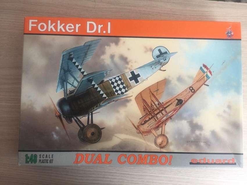 Fokker Dr. I DUAL COMBO 1/48 eduard 0