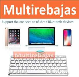 Teclado Para Pc iPad Tablet Con Bluethooth