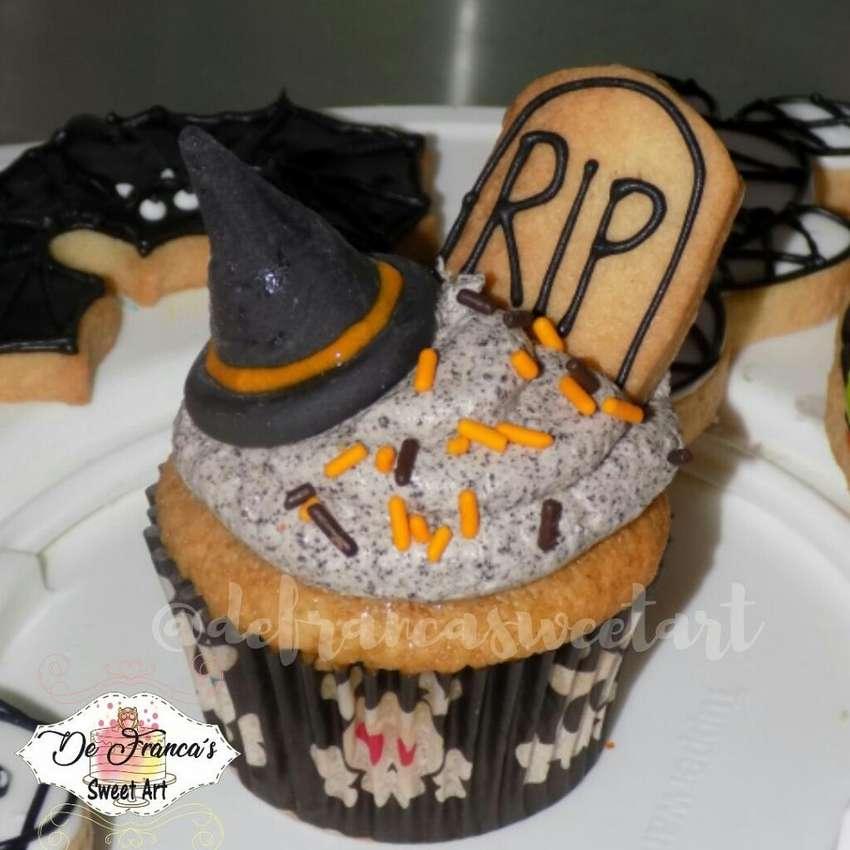 Halloween Torta Galletas Cupcakes 0