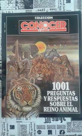 Colección Conocer Y Saber Preguntas y Respuestas Sobre El Reino Animal