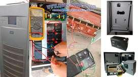 UPS, Transformadores de Aislamiento, Estabilizadores, Protector contra sobretensiones transitorias, Banco de Baterías
