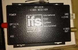 Modulo de vídeo, vídeo Receiver Modelo: VR1101M, fácil instalación sensitivity 1 w-30 dBm perfecto estaso