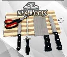 Set, kit o juego de cocina de 5 piezas.