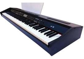Piano Electrico Parquer P961 88 Teclas Gabinete de madera