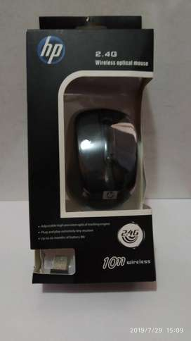 Mouse Hp Inalambrico Negro 2.4ghz