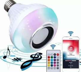 Bombillo Parlante Con Bluetooth, Multicolores