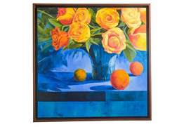 Bodegon Oleo sobre lienzo 1.50x 1.50