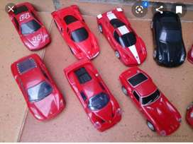 Colección completa de Ferraris de shell