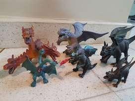Dragones colección