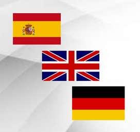 Traductor no oficial español - inglés - alemán
