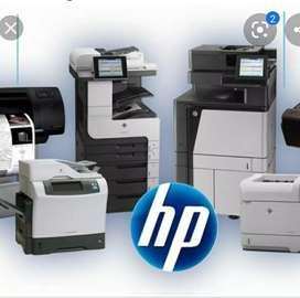 Soporte técnico impresoras HP-RICOH