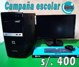 """Computadora """"Campaña Escolar 2020"""""""