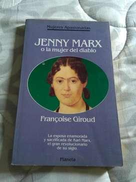 JENNY MARX O LA MUJER DEL DIABLO . FRANCOISE GIROUD . LIBRO PLANETA