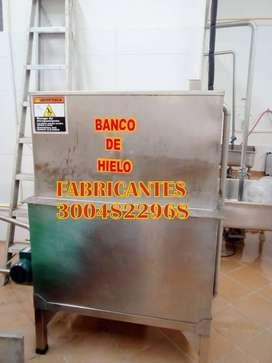 BANCO DE HIELO, DESPULPDORA PARA FRUTAS, MARMITAS, MEZCLADORA, DESMECHDORA PARA CARNE, BATIDORAS