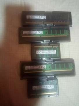 Memories ram,2,4,8 GB,para laptop y pc