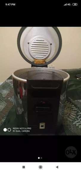 Remato freidora electrica de 3 litros