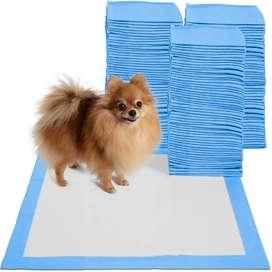 12 tapetes de entrenamiento desechables absorbentes