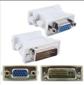 Adaptador unidireccional DVI-I a VGA