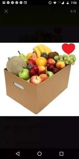 Repartidor de frutas y verduras