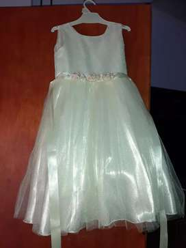 Vestido de nena talle 4 ba para nena de 4 a 5 años