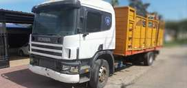 Scania 114 motor roto escucho ofertas de contado