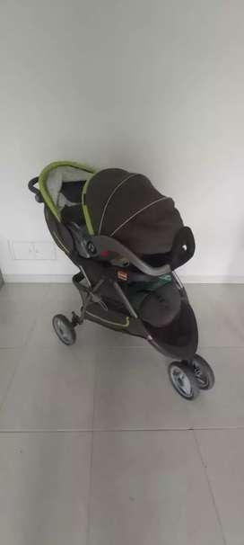 Coche + Portabebe Babytrend