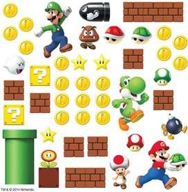 Stickers Para Pared De Super Mario.