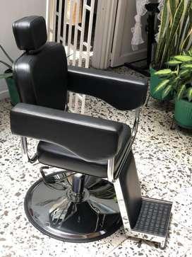 Se vende silla de barberia