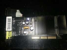 Tarjeta de Video Agp X8 Nvidia de 256 Mb