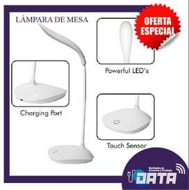 LAMPARA DE MESA RECARGABLE